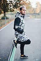 Зимняя мужская парка FF, камуфляж