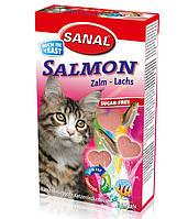 Витамины для кошек Sanal Cat Salmon «лосось» 50 грамм
