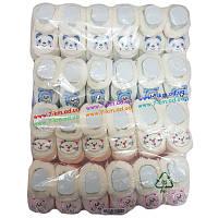 Пинетки для младенцев Len2121 мех 12 шт (0-6 мес) Разный