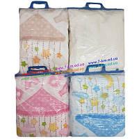 Одеяло для младенцев Len5340 полиэстер 1 шт (100х100 см)