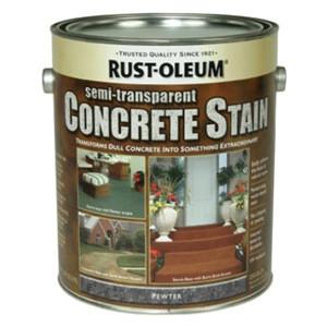 Пропитка по бетону, олово, Concrete Stain, 3.79 litre, Rust Oleum