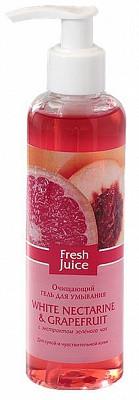 Гель для умывания Fresh JuiceCleanser Gel White Nectarine and Grapefruit (Белый Нектарин и Грейпфрут ) 200 мл