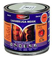 LACKBEJCA WOSK 0.7L захистно-декоративний восковий лакбейц / защитно-декор. восковый лакобейц