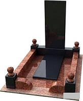 Пам`ятник одинарний (2.1х1.2 м)