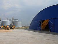 Зернохранилище тентовое