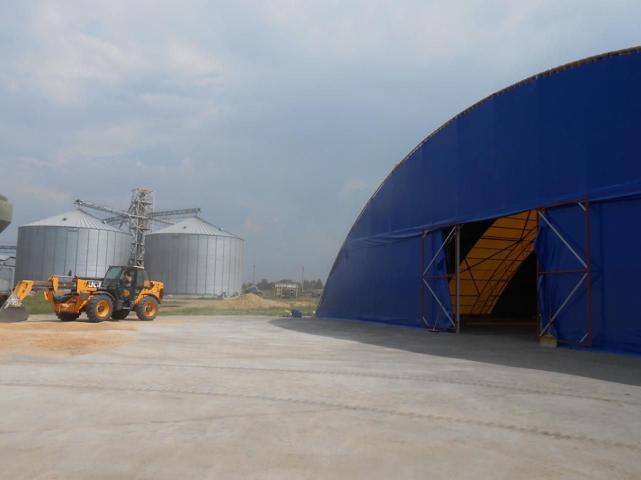 Зернохранилище тентовое - Тентовые конструкции - Тент Рид в Харькове