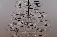 Стойка для капкейков металл Спираль