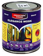 ELEGANCE WOSK 1L невимивний олійно-восковий препарат / невымываемый масляно-восковый препарат