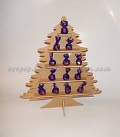 Елка для конфет и капкейков заготовка для декора