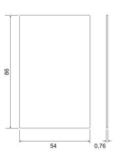 Двухстандартная rfid карта Mifare (13.56 МГц) + UHF (860-960 Мгц)