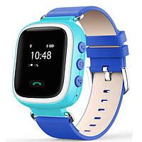 Детские умные gps часы Smart baby watch Q60 blue На русском языке
