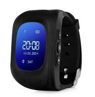 Детские часы с GPS-трекером Smart Baby Watch Q50 black Русс Гарантия 12 мес