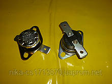 Реостат авто включення-виключення KSD 301 / 115℃ / 250 ст. / 10 / 17 мм. діаметр . Нормально замкнутий .