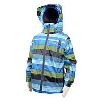 Демисезонная термокуртка для мальчика полоска