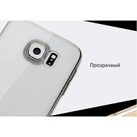 Чехол rock Slim Jacket для Samsung Galaxy S6 Edge Plus прозрачно-черный