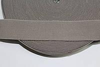 Резинка декоративная 40мм, бежевый , фото 1