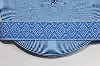 Резинка декоративная 40мм, голубой , фото 1