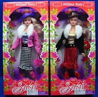 """Кукла """"Susy"""" в полушубке с шляпкой и сумочкой  2910 HN"""