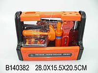Набор инструментов в ящике 28,0*15,5*20,5см