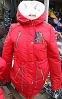 Теплая Куртка парка (коттон+овчина+синтепон),  доставка по Украине