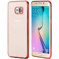 Чехол rock Flame Series для Samsung Galaxy S6 Edge Plus красный, фото 1