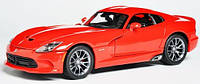 MAISTO Автомодель (1:18) Dodge Viper 2013 красный