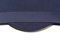 Резинка декоративная 40мм, т.синий , фото 1