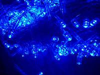 Гирлянда LED светодиодная на 100 ламп голубая