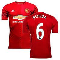 Футбольная форма Манчестер Юнайтед Погба (Manchester United Pogba) 2016-2017 домашняя