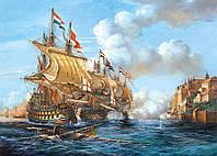 Пазлы Битва Порто Белло 1739 г. 2000 элементов Castorland С-200245