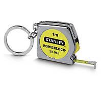 Рулетка   1м х 6.35мм Powerlock с кольцом для ключей  STANLEY 0-39-055