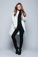 Теплое зимнее пальто с шарфом X-Woyz