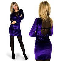 Фиолетовое платье 152050