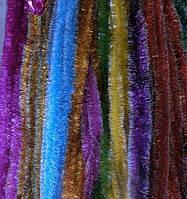Новогодняя мишура (дождик), d=5 см, длина 3 м (набор 10 шт, цвета в ассортименте)