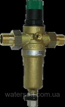 Фільтр механічного очищення з регулятором тиску для гарячої води Honeywell FK06 1/2AAM, фото 2
