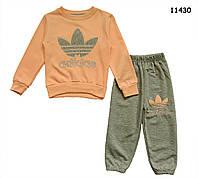 Спортивный костюм Adidas для девочки. 2, 3 года
