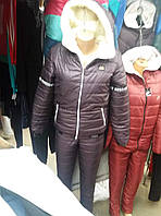 Спортивный  костюм теплый женский  2300  Новинка 2017