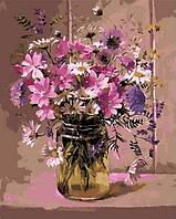 Раскраска по цифрам Mariposa Нежный букет Худ Коттерил Анне (MR-Q1047) 40 х 50 см