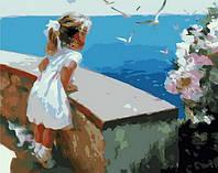 Картина по номерам Mariposa Ласковое море Худ Волегов Владимир (MR-Q1237) 40 х 50 см