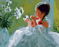 Картина-раскраска Mariposa Любит, не любит Худ Волегов Владимир (MR-Q1246) 40 х 50 см
