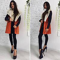 Зимнее женское кашемировое пальто от производителя, фото 1