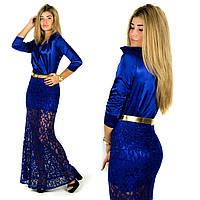 Платье 152051 (Электрик)