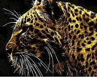 Картина по цифрам Mariposa Хищный взгляд (MR-Q780) 40 х 50 см