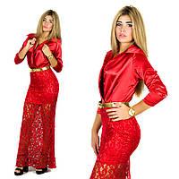 Красное платье 152051