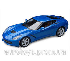 MAISTO Автомодель (1:18) 2014 Corvette Stingray синий