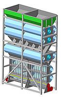 Зерносушарка на дровах Grain Tower 60-80 т/доба