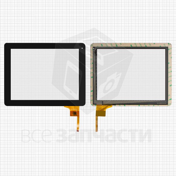 Сенсорный (тачскрин) Assistant AP-109;GoClever Libra 97;Ritmix RDM-1040,RDM-1055; Digma IDS 10, черный,