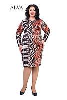 Красивое женское платье больших размеров оптом и в розницу