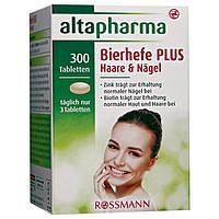 Altapharma Bierhefe-Tabletten PLUS Haare & Nägel -Пивные дрожжи Витамины для волос, ногтей и кожи, 300 шт.