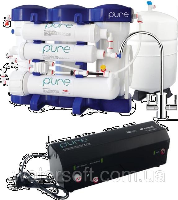 Система обратного осмоса Ecosoft P'ure с помпой